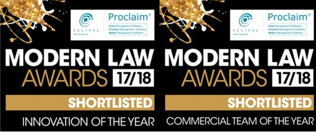 Capital shortlisted for the Modern Law Awards featured image