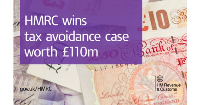 HMRC wins tax avoidance case worth £110 million featured image