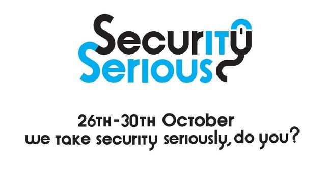 Security Serious Week 2015 26th-30th October featured image