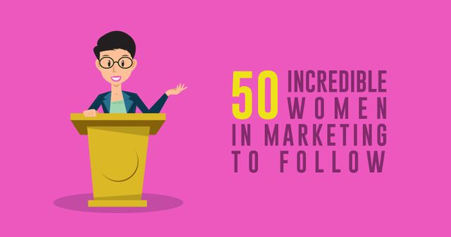 50 Incredible Women In Marketing To Follow featured image