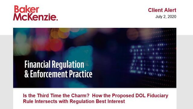 A Closer Look at How the 2020 Proposed DOL Fiduciary Rule Intersects with Reg BI featured image
