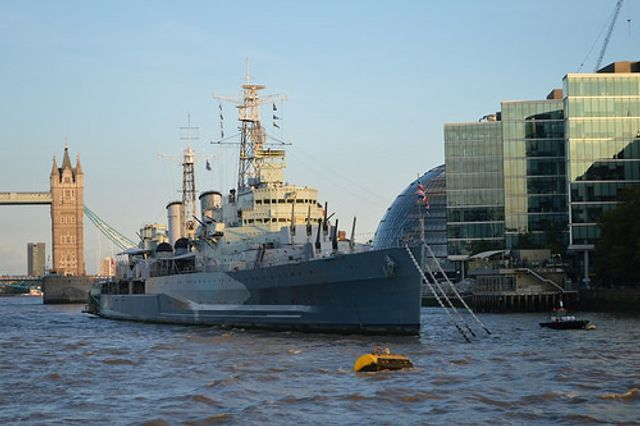 Using HMS Belfast as an event venue featured image