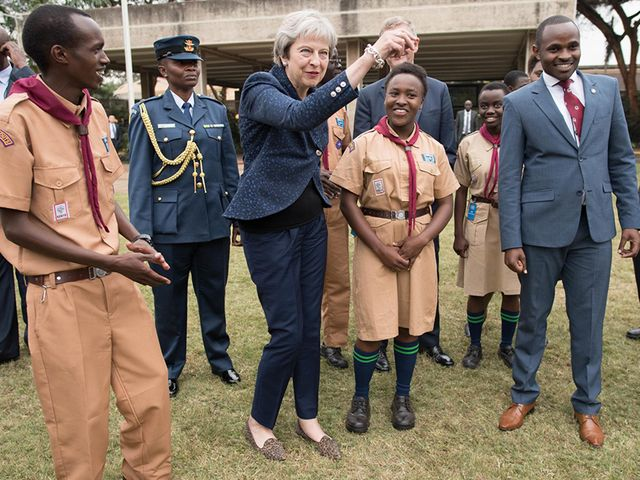 Dance to the Beat of Your Own Drum. Except You, Theresa May. Please Stop. featured image