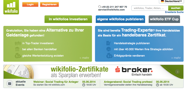 Alternative Investing Startup Wikifolio Raises €6M For International Expansion featured image