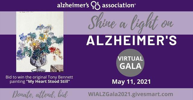 "#ENDALZ --WI Alzheimer's Association's May 11 ""Shine a Light on Alzheimer's"" Virtual GALA featured image"