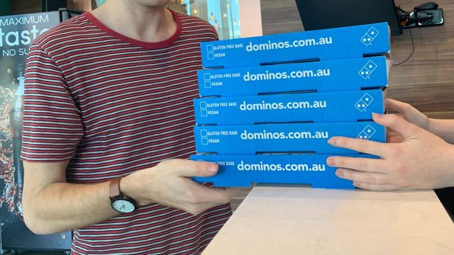 Domino's Tests Cashless Stores in Australia as the World Ditches Paper Money featured image