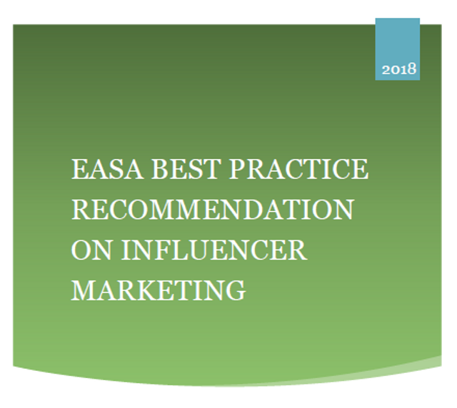 European Advertising Standards Alliance Releases Guidelines on Influencer Marketing featured image