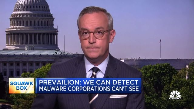 """Cyber Threat Game Changer """"Prevailion"""" Featured on CNBC featured image"""
