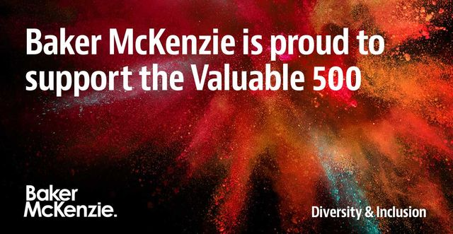 Baker McKenzie supports the Valuable 500 featured image