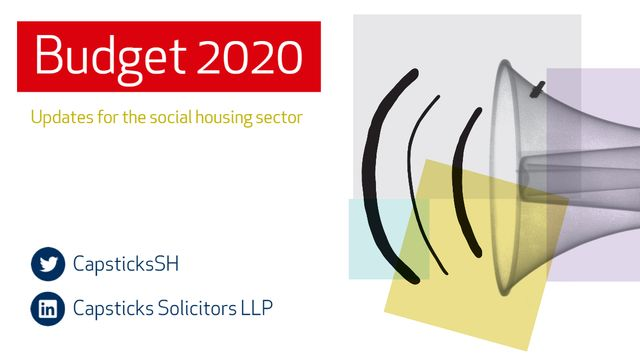 Budget 2020:  Live updates for the social housing sector featured image