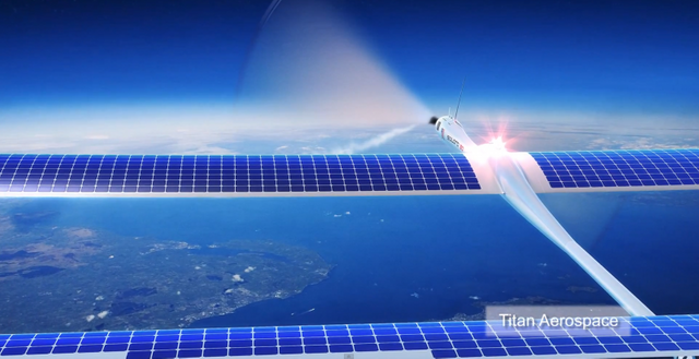 Facebook's flying solar drones to deliver internet to the 3rd world featured image