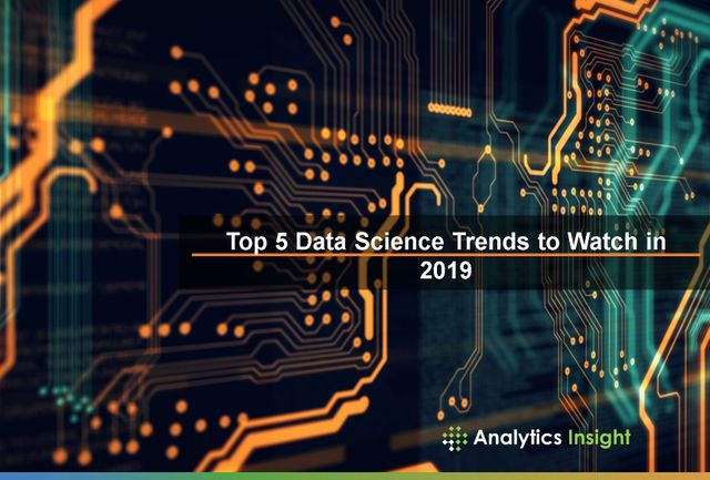 TOP 5 DATA SCIENCE TRENDS TO WATCH IN 2019 featured image