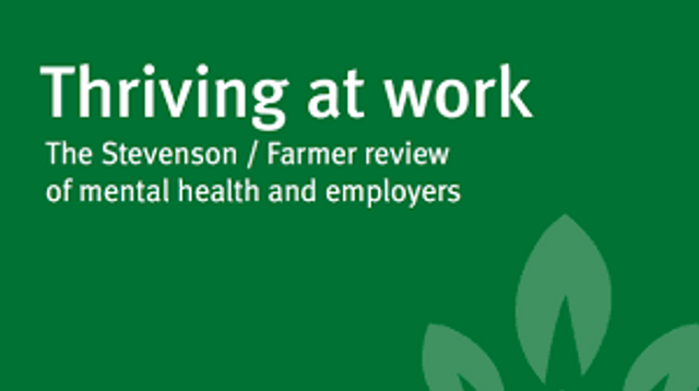 Thriving at Work - the Farmer/Stevenson Review featured image