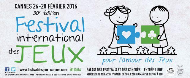 30e Festival international des jeux de Cannes 2016 featured image