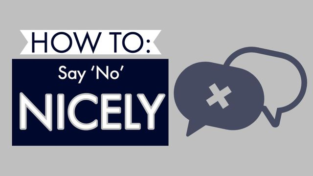 How to Say 'No' Nicely - Bunnell Idea Group featured image