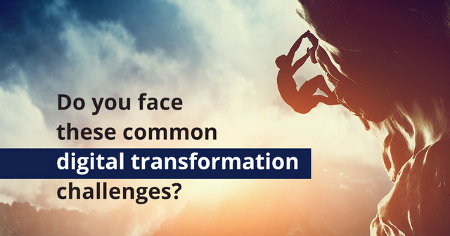 7 DIGITAL TRANSFORMATION CHALLENGES & HOW TO FACE THEM featured image