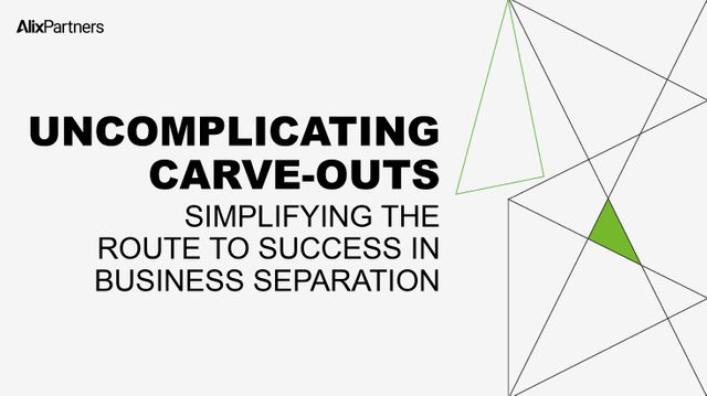 WEBCAST: Uncomplicating carve-outs: simplifying the route to success in business separation featured image