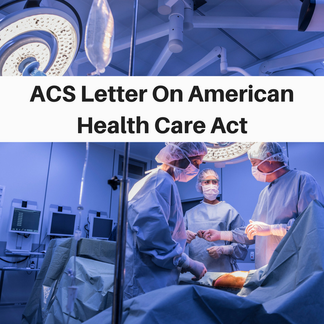 ACS Position On Proposed American Health Care Act featured image