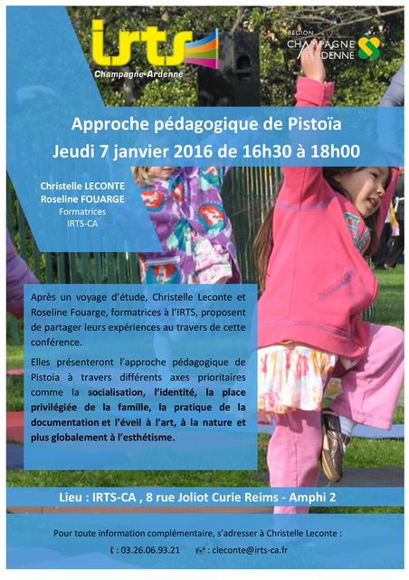 Approche pédagogique de Pistoïa featured image