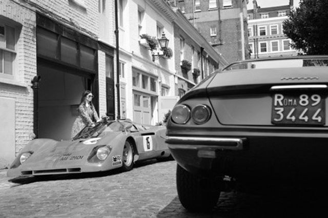 Warden catches Le Mans Ferrari in a mews featured image