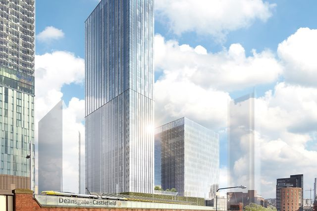 Ask lodges £300m Manchester towers proposal featured image