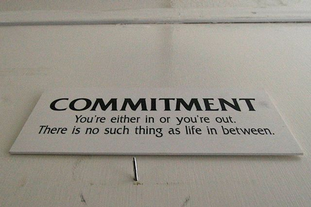 """Unless commitment is made, there are only promises and hopes… but no plans."" Peter Drucker featured image"