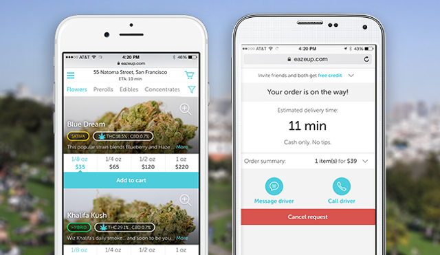 Uber-for-weed startup raises $10m Series A featured image