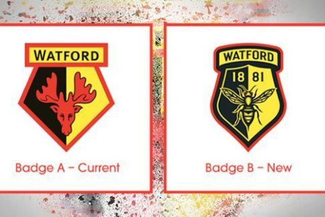 Watford fans not exactly buzzing for new club badge! featured image