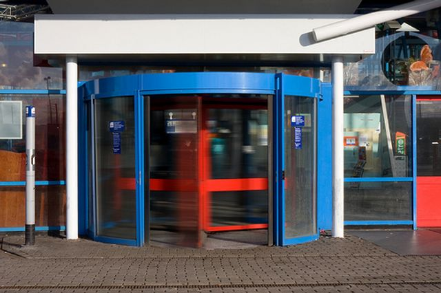 What's with the revolving door? featured image