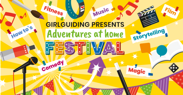 Adventures at Home Festival: Saturday 23rd May - free festival with the Guides - all welcome! featured image