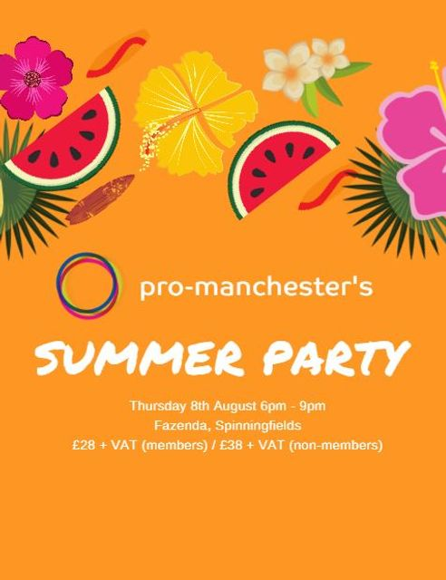 Pro-Manchester Summer Party 2019 featured image