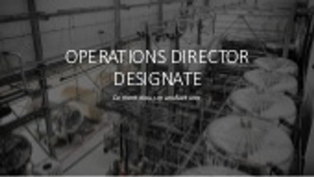 New opportunity - Ops Director Designate - Building Products featured image