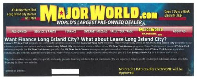 "Is ""World's Largest Used Car Dealer"" Puffery? featured image"