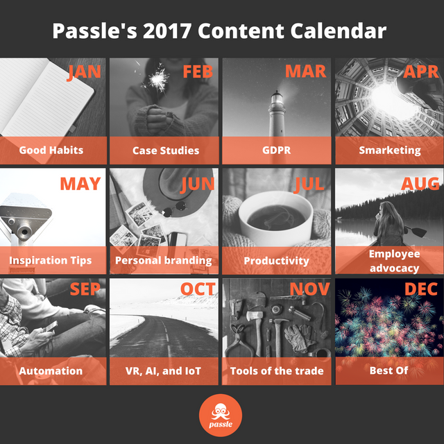 What does your content calendar look like? featured image