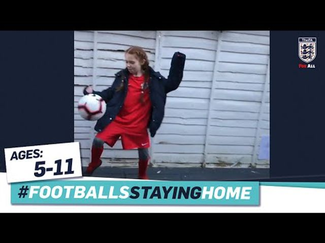 FA Learning At Home: For budding footballers (and their mums and dads) featured image