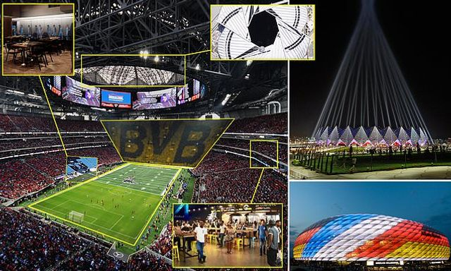 Next gen sports stadia! Fan zones, Tunnel clubs, Jails & Courtrooms! featured image