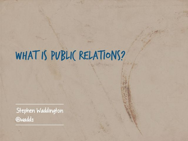 What Is PR, Anyway? featured image