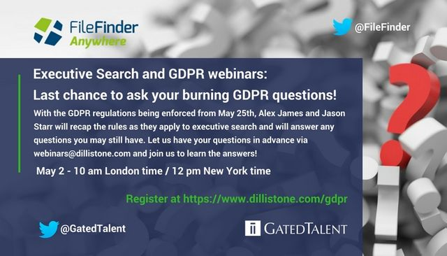 Last chance to ask your burning GDPR questions! featured image
