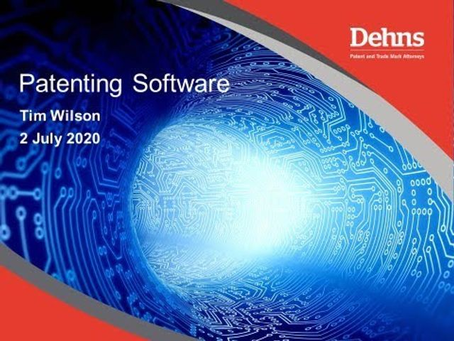 Webinar: Patenting Software featured image