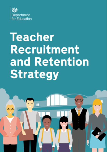 "Now Teach is part of the government's ""game-changing"" Recruitment and Retention Strategy featured image"