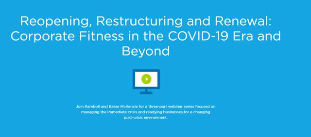Reopening – Managing Risks & Returning to Compliant and Productive Operations During the COVID-19 Crisis featured image