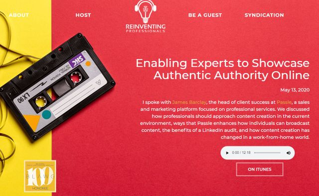 Enabling Experts to Showcase Authentic Authority Online featured image