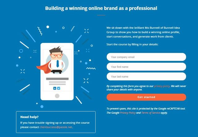 Courses: Building a winning online brand as a professional featured image