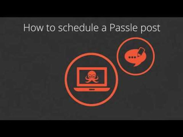 How to schedule your Passle posts featured image