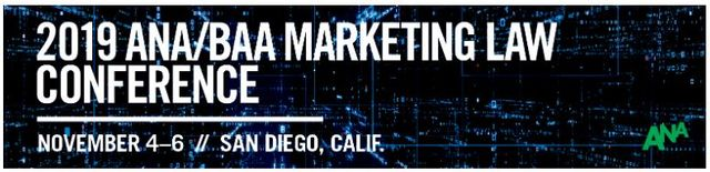 Join Frankfurt Kurnit's Ad Group at the ANA/BAA Annual Marketing Law Conference featured image