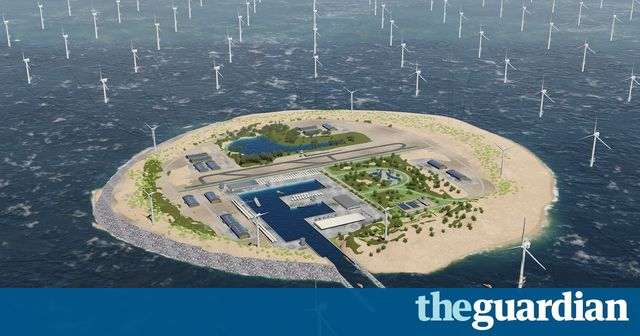 Is this the future? Dutch plan vast windfarm island in North Sea featured image