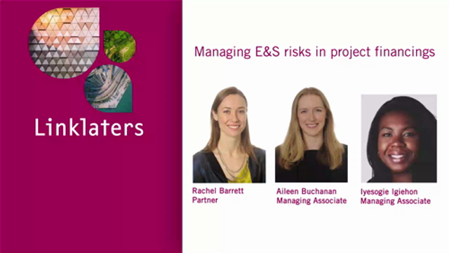 Managing E&S risks in project financings featured image