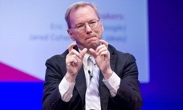 'Big data is so powerful, nation states will fight over it', predicts Alphabet chairman Eric Schmidt featured image