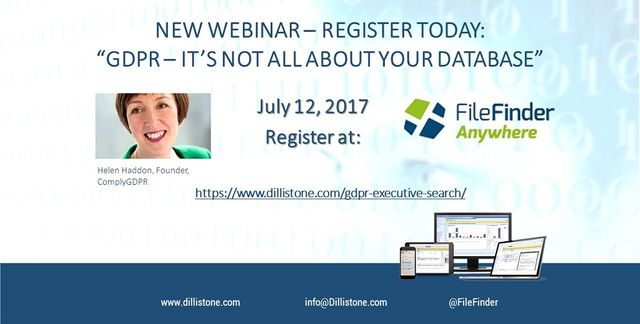 NEW WEBINAR: GDPR and Executive Search – it's not all about your database! featured image