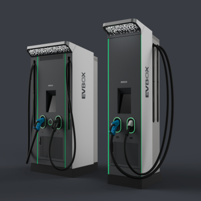 EVBox unveils new ultra-fast chargers at CES 2020 featured image